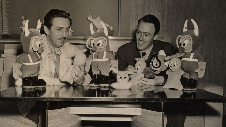 Roald Dahl, Walt Disney and the Gremlins. c. RDNL.