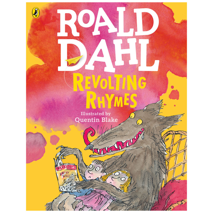 Revolting Rhymes by Roald Dahl - large colour paperback