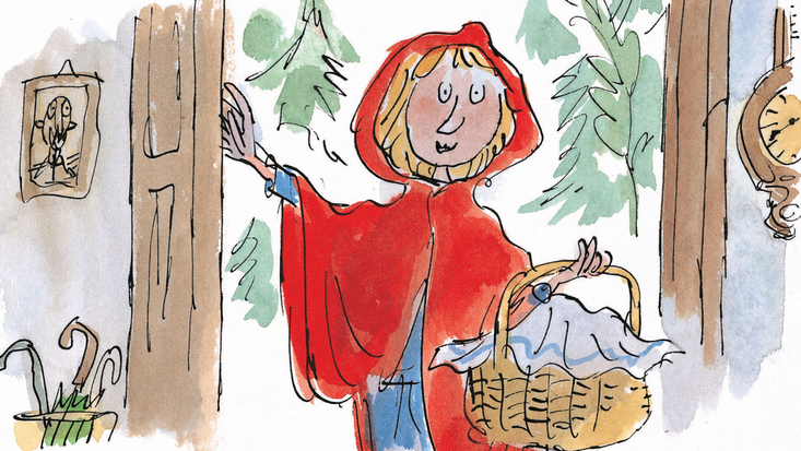 Roald Dahl's Revolting Rhymes, illustrated by Quentin Blake