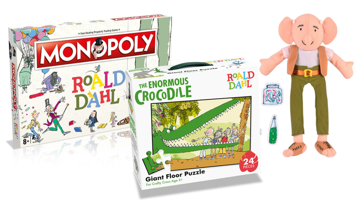 Roald Dahl games and puzzles