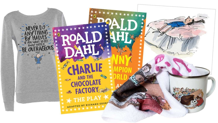 Roald Dahl gifts and goodies
