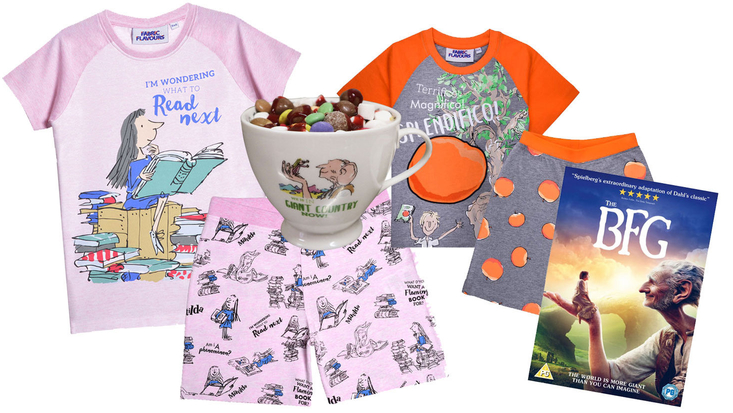 Selection of Roald Dahl products