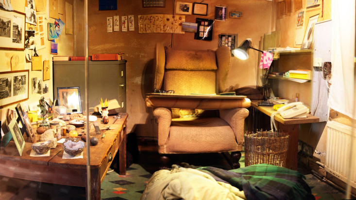 Roald Dahl's Writing Hut at the Roald Dahl Museum