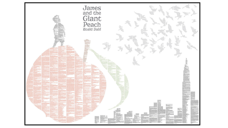 Roald Dahl's James and the Giant Peach - Spineless Classics