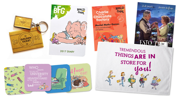 Roald Dahl Christmas gift ideas