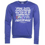Ladies Matilda Crazy Sweatshirt