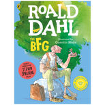 The BFG by Roald Dahl - large colour paperback and audio CD set
