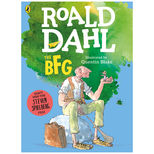 The BFG by Roald Dahl - large colour paperback