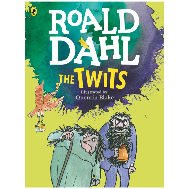 The Twits by Roald Dahl - large colour paperback