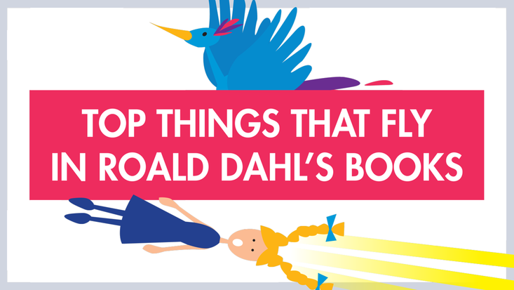 Top things that fly in Roald Dahl's books