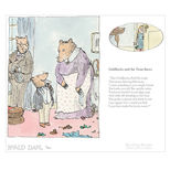 Goldilocks and the Three Bears Revolting Rhymes Print