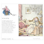 Three Little Pigs Revolting Rhymes print