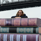 Tim Minchin at the Sydney press launch of Matilda The Musical. Photo: James Morgan