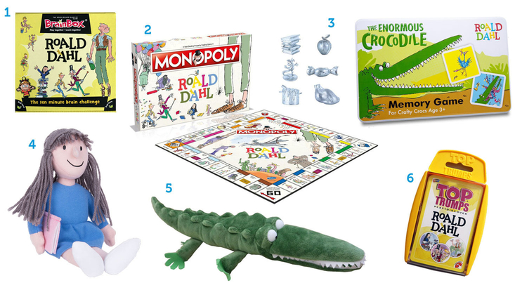 Roald Dahl toys and games