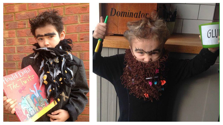 Dress up as Mr Twit for Dahlicious Dress Up Day