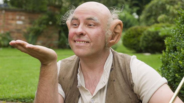 David Walliams as the BFG