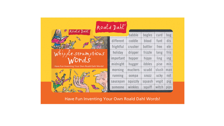 Roald Dahl Whipple-scrumptious Words