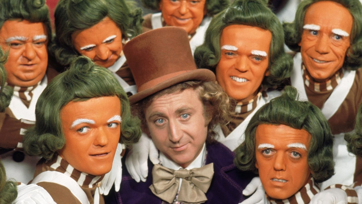 Gene Wilder as Willy Wonka. From the 1971 film version of Willy Wonka and the Chocolate Factory on Blu-ray™ and DVD