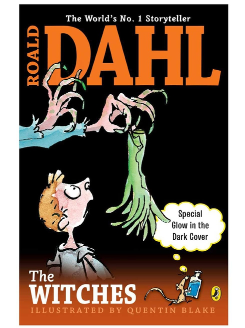 A glow-in-the-dark edition of Roald Dahl's The Witches, released in 2015