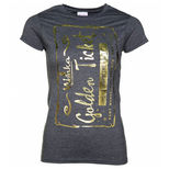 Roald Dahl Golden Ticket ladies tshirt