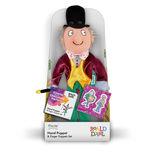 Willy Wonka Hand Puppet boxed
