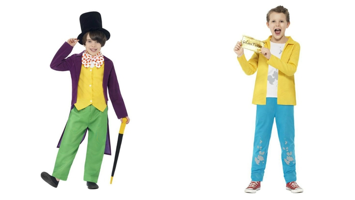 Dress up as Willy Wonka or Charlie Bucket for World Book Day 2015