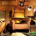 Inside Roald Dahl's Writing Hut