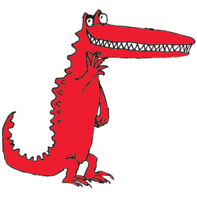 Quentin Blake crocodile illustration